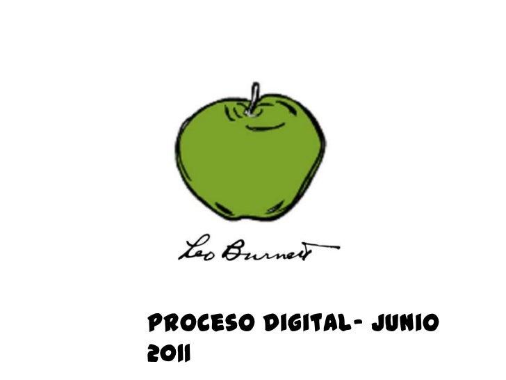 Proceso Digital- Junio2011