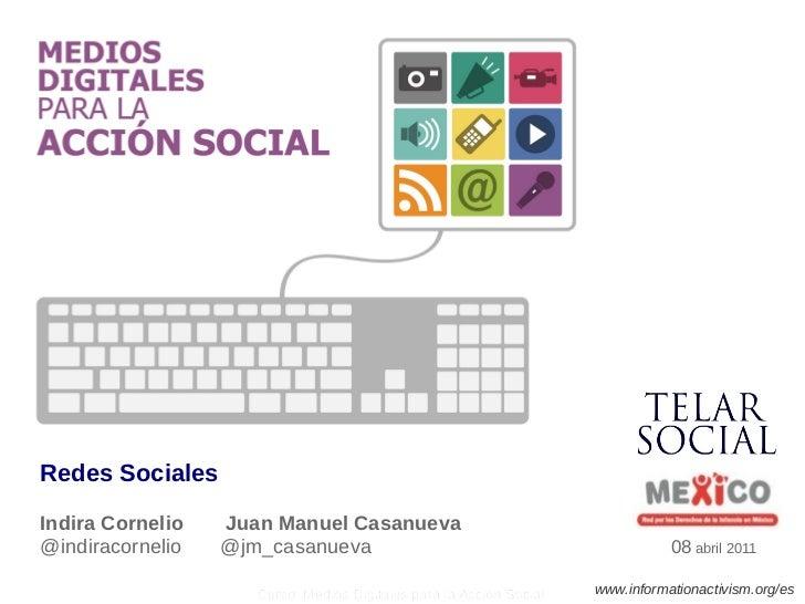 Presentación de Redes Sociales para REDIM