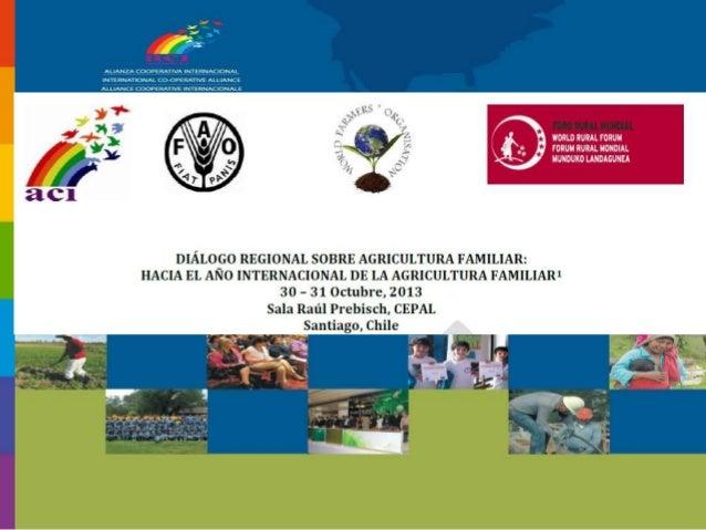 ACI La Alianza Cooperativa Internacional es un organismo mundial que une, representa y sirve a las cooperativas en todo el...