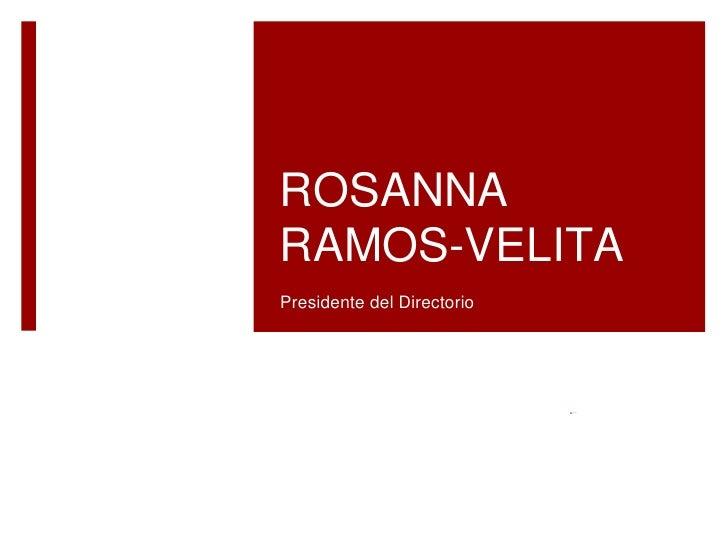 Rossana Ramos Velita