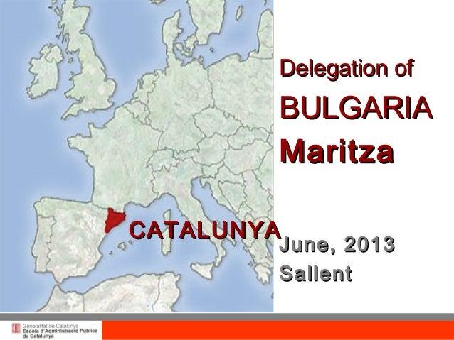 Catalonia. Public Administration