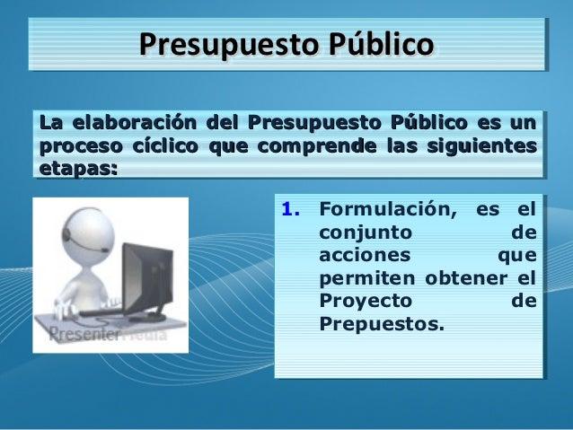 Elaboracion de un Presupuesto Publico Presupuesto p Blico