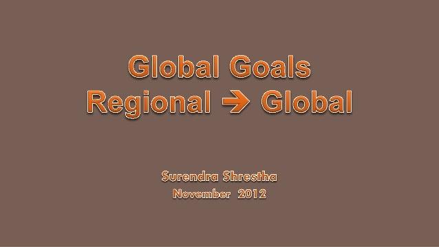 Secretary General's Action Agenda   Change            (Exponential Interconnected Complex): demographic, emerging economi...