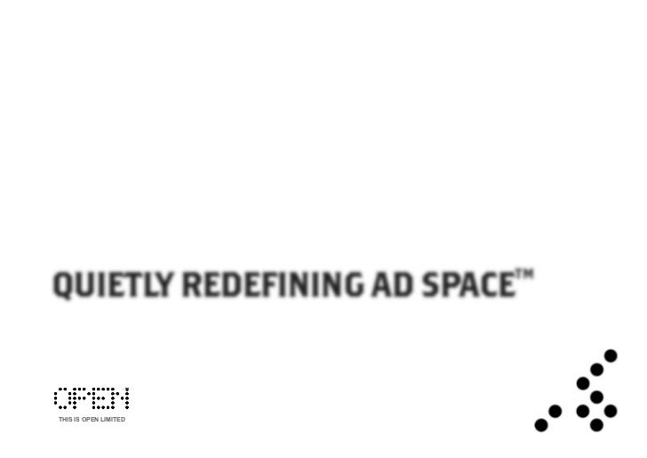 Open IMU™ - Quietly Redefining Ad Space