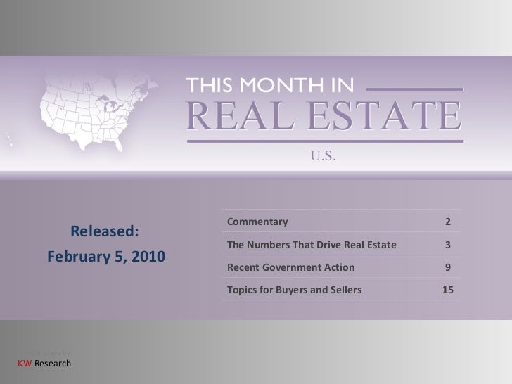 02 This Month In Real Estate   February   Us 2010[1]