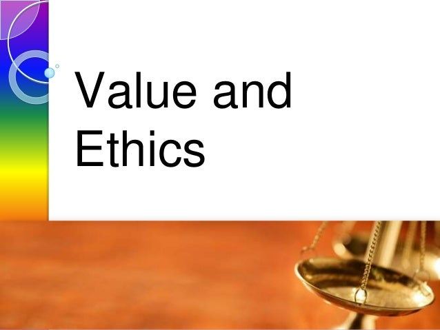 Value and Ethics Lesson 02