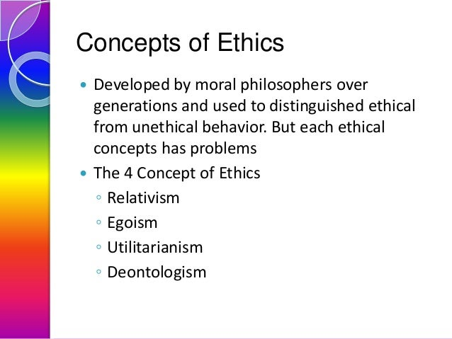 concept of ethical relativism