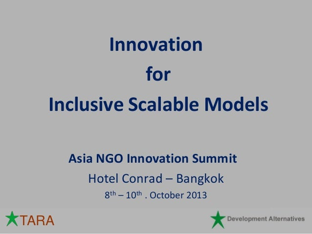 ANIS2013_Why Technology for Social Innovation_Vijay Chaturvedi