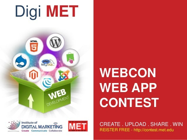 Web App Contest - DigiMET - National Online Contest