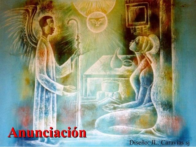 Anunciación - José Luis Caravias, sj.