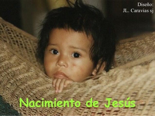 Nacimiento de Jesús - José Luis Caravias, sj.