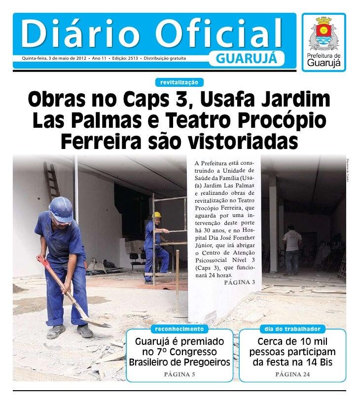 Diário Oficial de Guarujá - 03-05-12