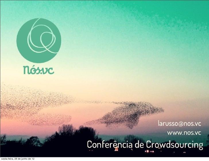 Nos.vc Daniel Larusso - Crowdlearning