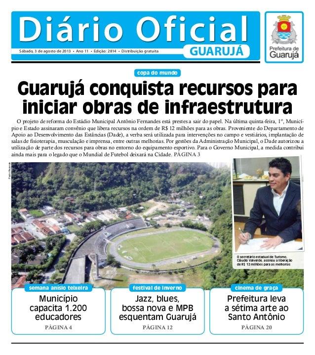 Diário Oficial - 03/08/2013