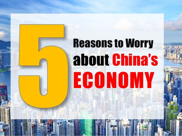 5 Reasons to Worry about China's Economy