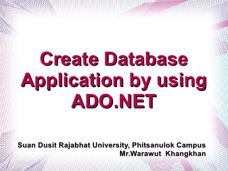 03 2-create-db-application-ado-dot-net