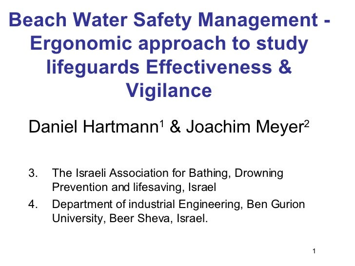 Water Safety Management