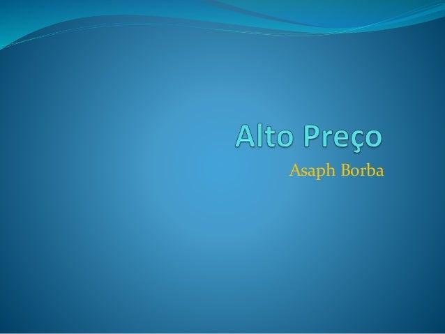 Asaph Borba