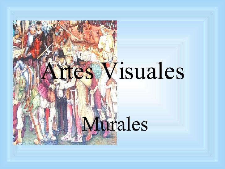 Artes Visuales: Murales
