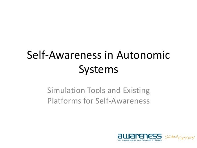 Self-Awareness in Autonomic Systems Simulation Tools and Existing Platforms for Self-Awareness