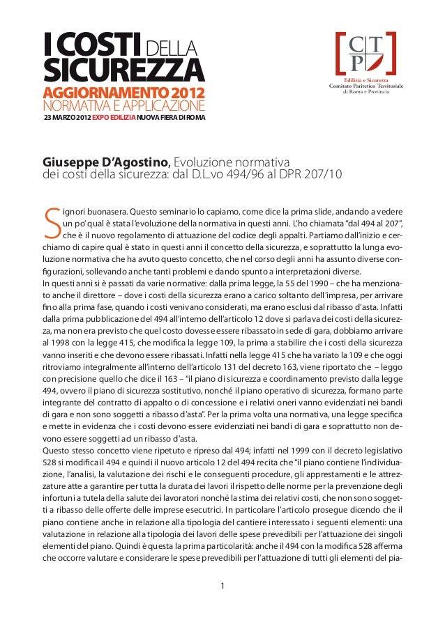 03   cpt roma-costi_sicurezza_evoluzione_normativa
