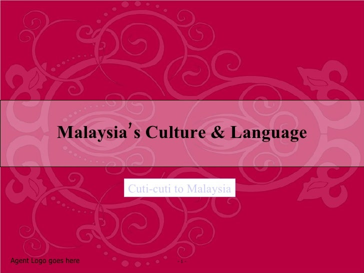 Malaysia Culture and Language