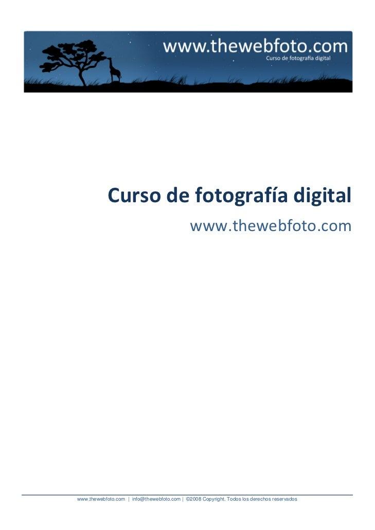 03. curso de fotografia digital   thewebfoto - jamespoetrodriguez