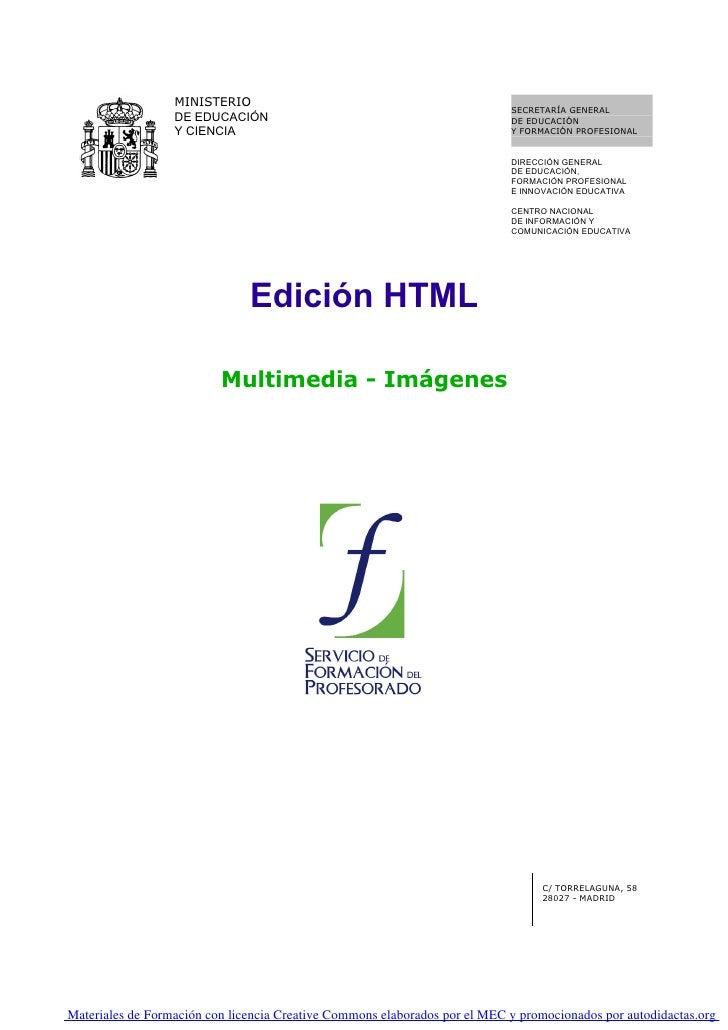 03. Edicion Html. Multimedia. Imagenes   0001
