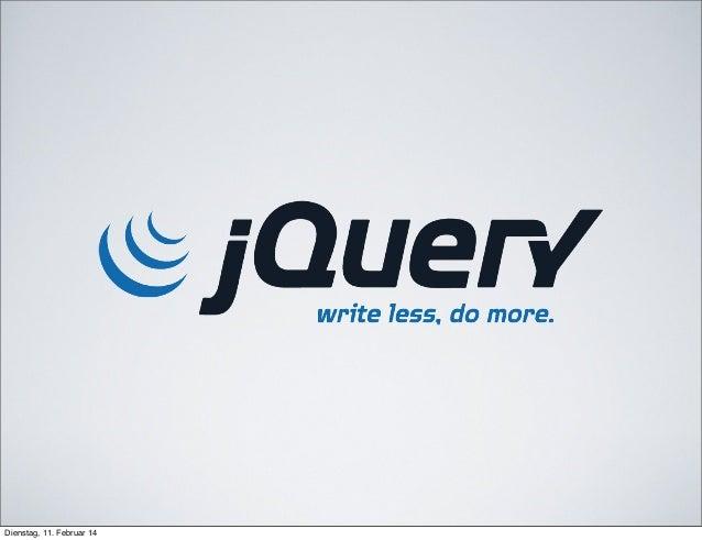 JQuery primer
