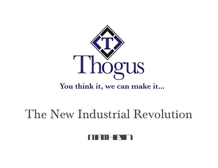 <ul><li>The New Industrial Revolution </li></ul>Matt Hlavin