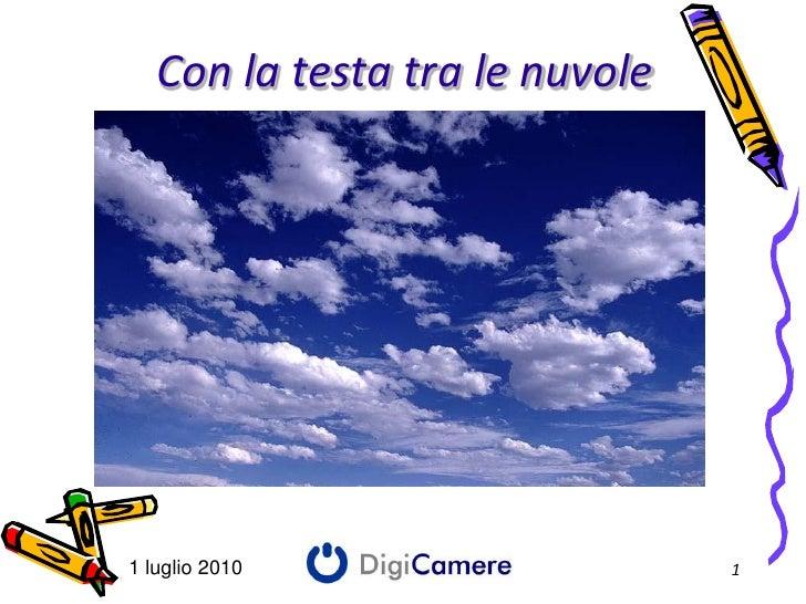 Cloud Computing - Case history - Attilio Domenico Sprela - Digicamere