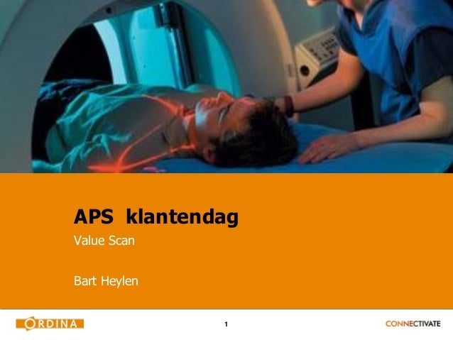 APS klantendagValue ScanBart Heylen              1