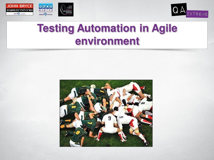 Testing Automation in Agile       environment