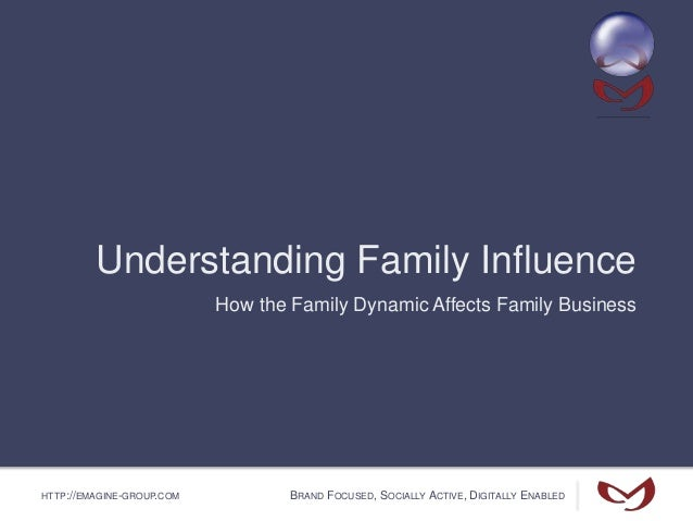 HTTP://EMAGINE-GROUP.COM BRAND FOCUSED, SOCIALLY ACTIVE, DIGITALLY ENABLED Understanding Family Influence How the Family D...