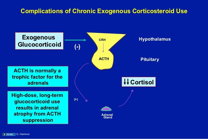 corticosteroid therapy and diabetes
