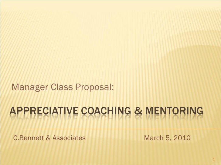 03 05 10 Appreciative Coaching & Mentoring