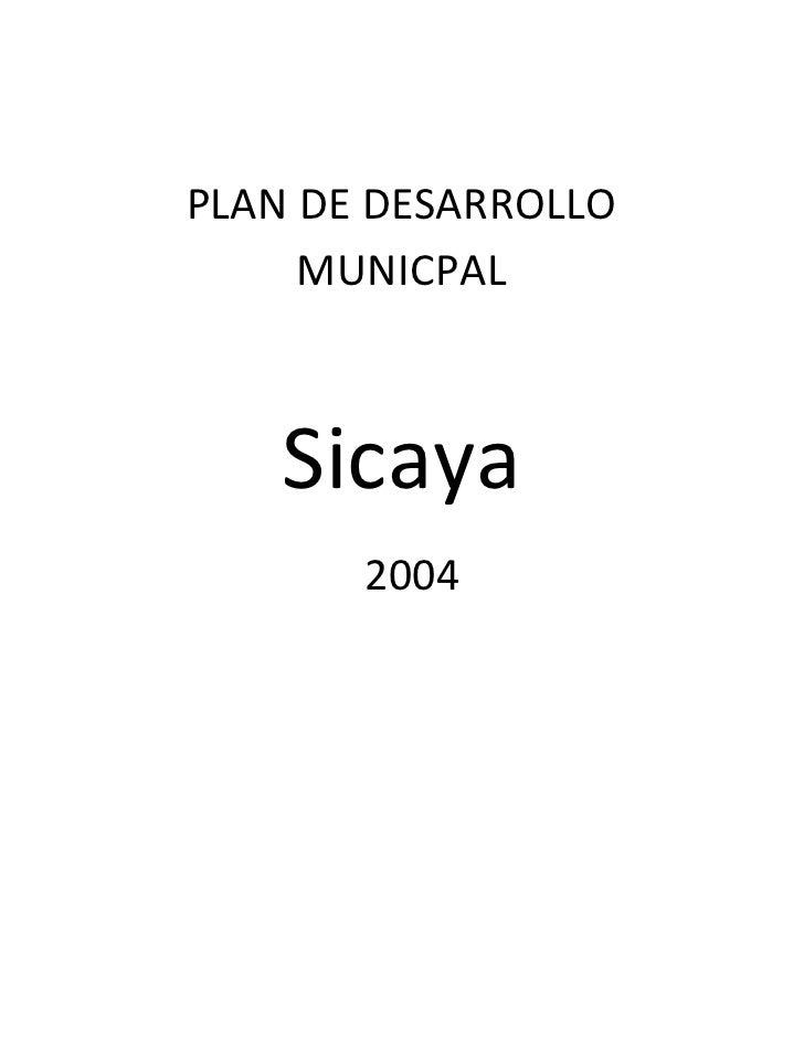 PDM Sicaya