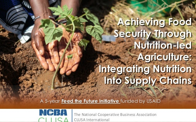 Achieving Food Security Through Nutrition-led Agriculture: Integrating Nutrition Into Supply Chains A 5-year Feed the Futu...