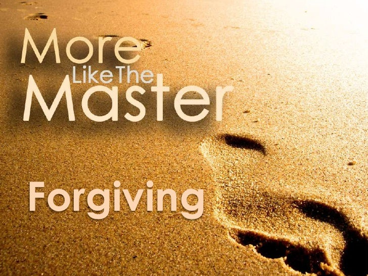 More Like the Master: More Forgiving
