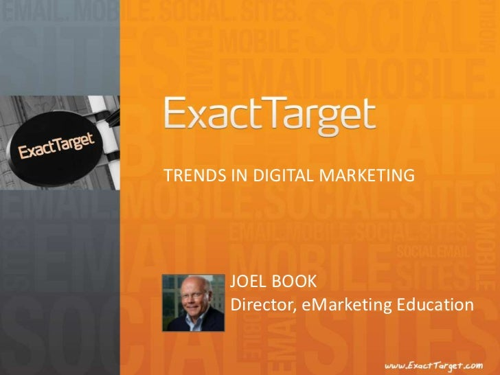 10 Minute Take-A-Way: Trends in Digital Marketing