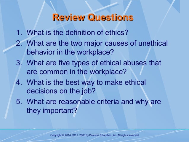 an overview of ethical behavior Introduction to the eps rid's ethical practices system it provides guidance and enforcement to professionalism and conduct while offering a ethics overview.