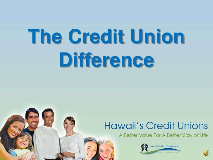 The Credit UnionDifference<br />