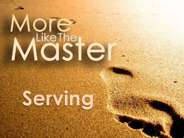 Serving<br />