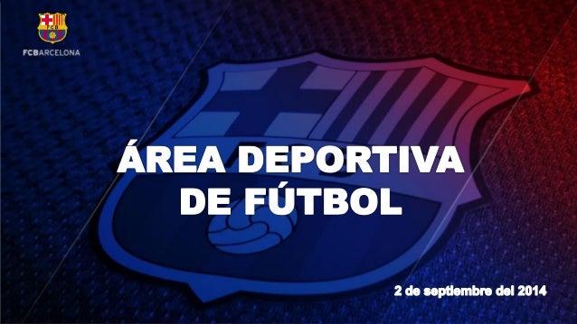 Balance Area Deportiva (Verano 2014)
