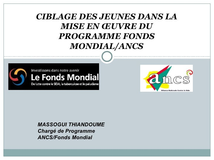 03 Ciblage Des Jeunes Ancs Massogui Thiandoume