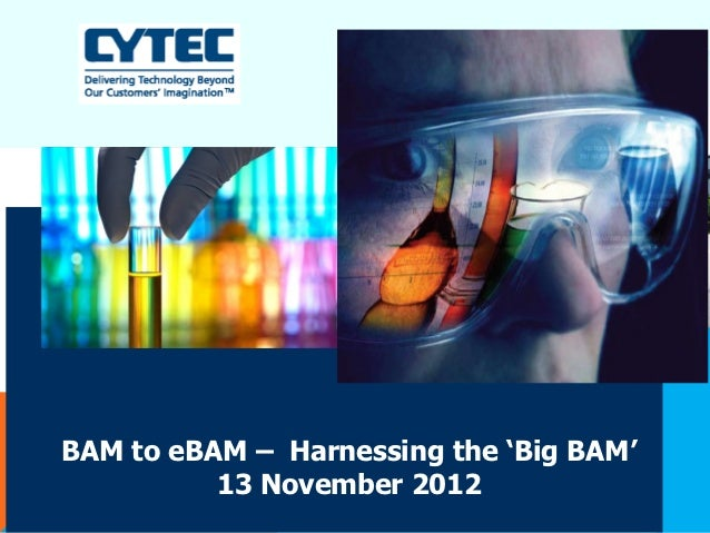 Cytec for Zanders EBAM Seminar, November 13th, 2012