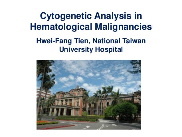 Cytogenetic Analysis in Hematological Malignancies