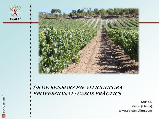 ÚS DE SENSORS EN VITICULTURA                 PROFESSIONAL: CASOS PRÀCTICSECH2OSYSTEM®                                   ...