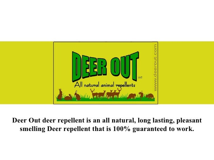 Deer Out - Best Deer, Rabbit, Rat and Mouse Repellent