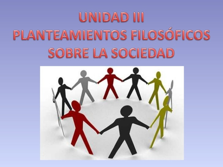 03 FILOSOFIA: dimension social